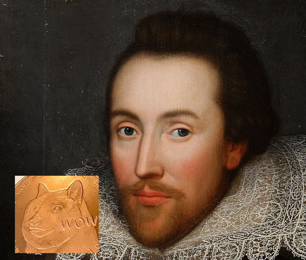 Shakespeare and Bitcoin